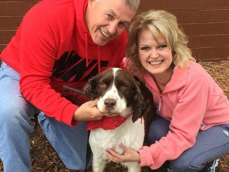 Recipient Debbie Maynor and husband