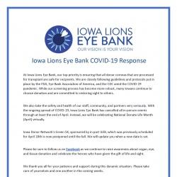 COVID-19 response sheet